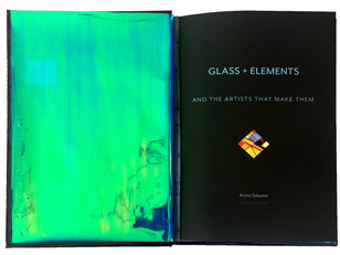 Title page - Glass + Elements Book