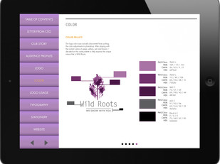 Wild Roots Brand Identity Manual 4