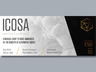 ICOSA Tickets 1