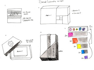 Typographic Card - Sketches 2