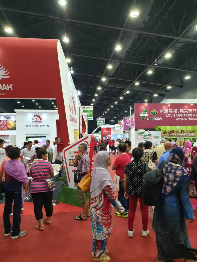 Eco Starland Group participate in  international agriculture technology       易盛集团到国际农业工艺展探索新知