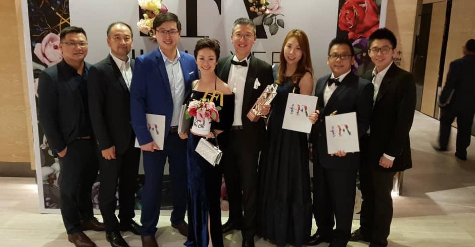 Director of Eco Starland Group, Lim Wei Qi awarded the High Flyer Award        易盛董事林韦奇 荣获企业高飞成就大奖