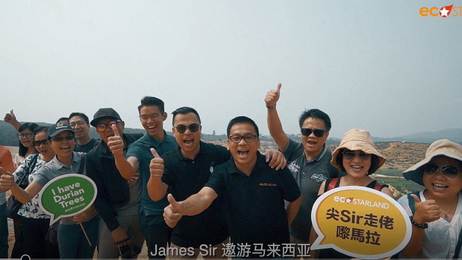 James Sir and friends in Malaysia 尖SIR走佬嚟马拉 一班朋友齐齐High