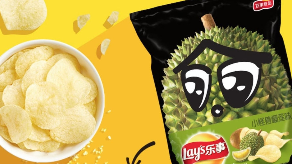 Durian potato chips are now a thing in China
