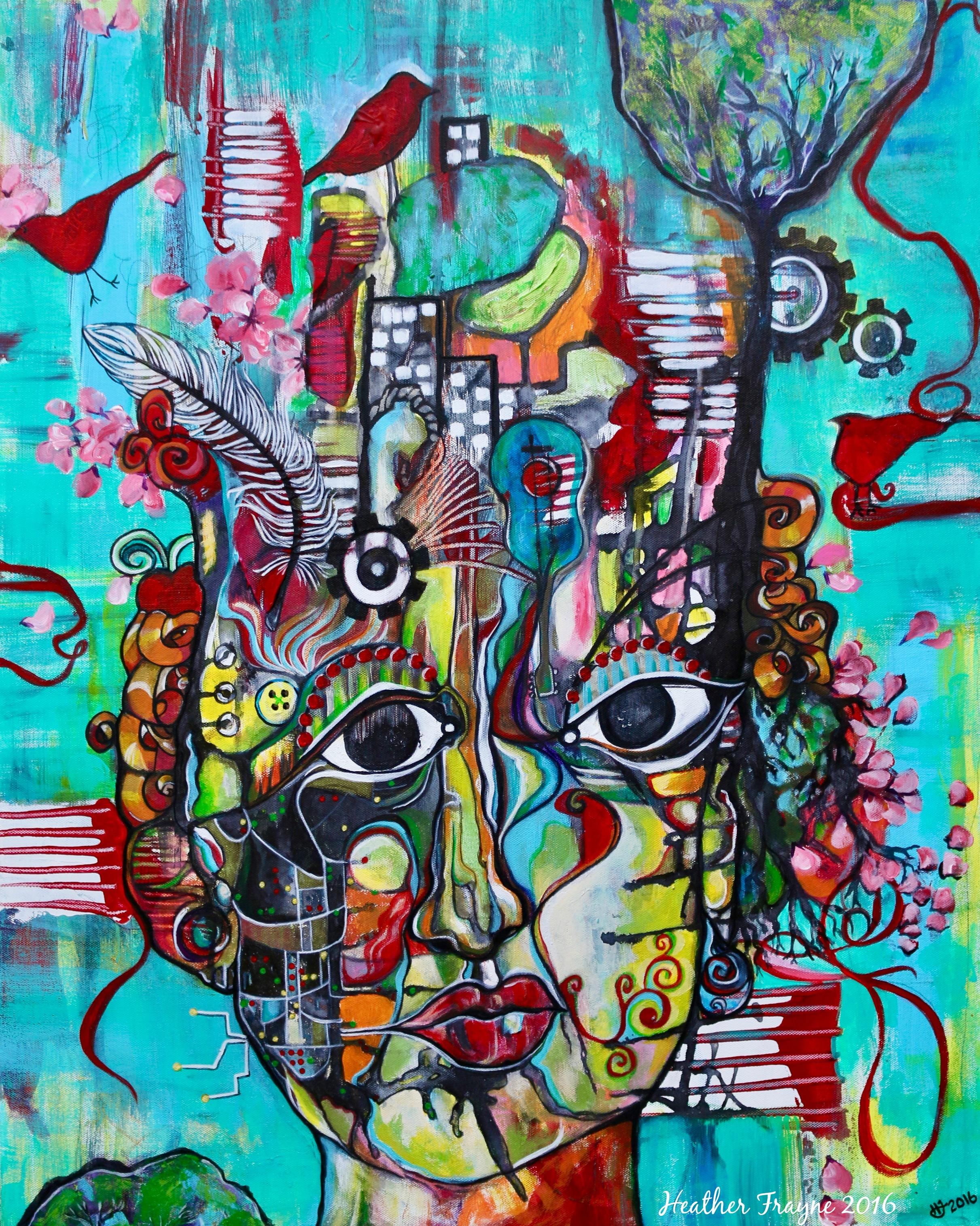 Deconstructed Goddess 2016