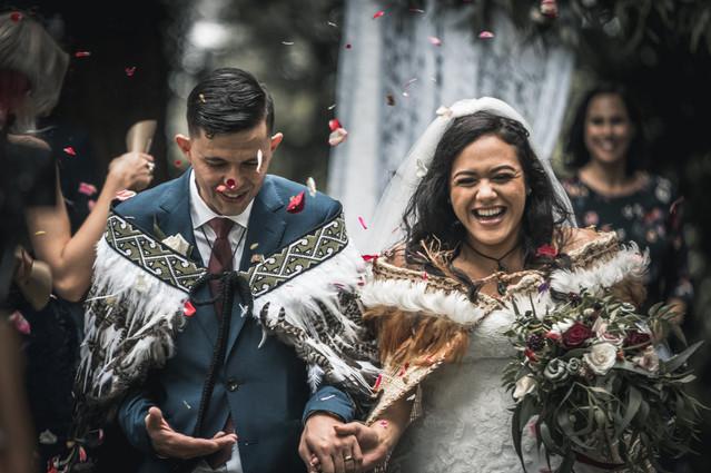 Waiongana Gardens - New Plymouth wedding photography - Morena and Wiremu - Julia Moore-Pilbrow Photography