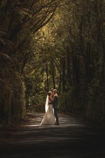 Pukeiti Garden wedding photos