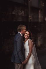Bowl of Brooklands and Waiongana wedding with a central new plymouth city photoshoot