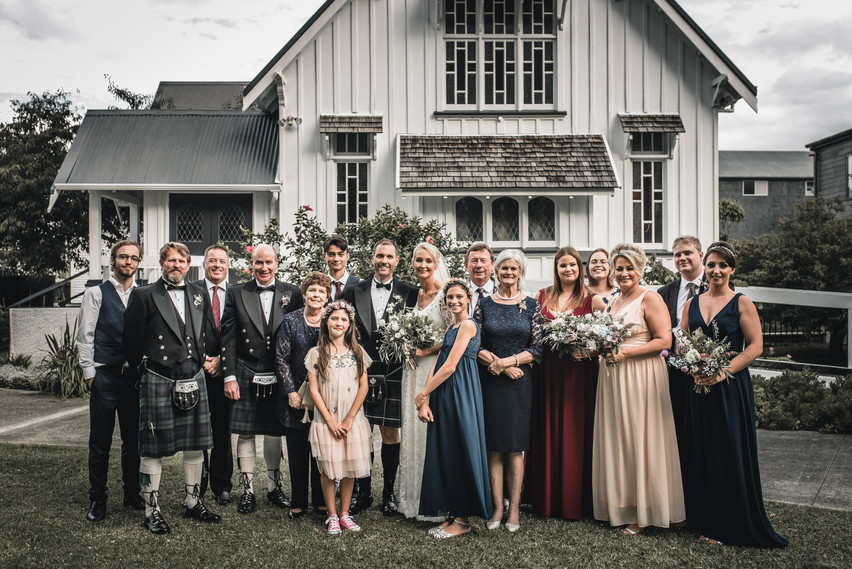 Carron & Dion Auckland Wedding Photography