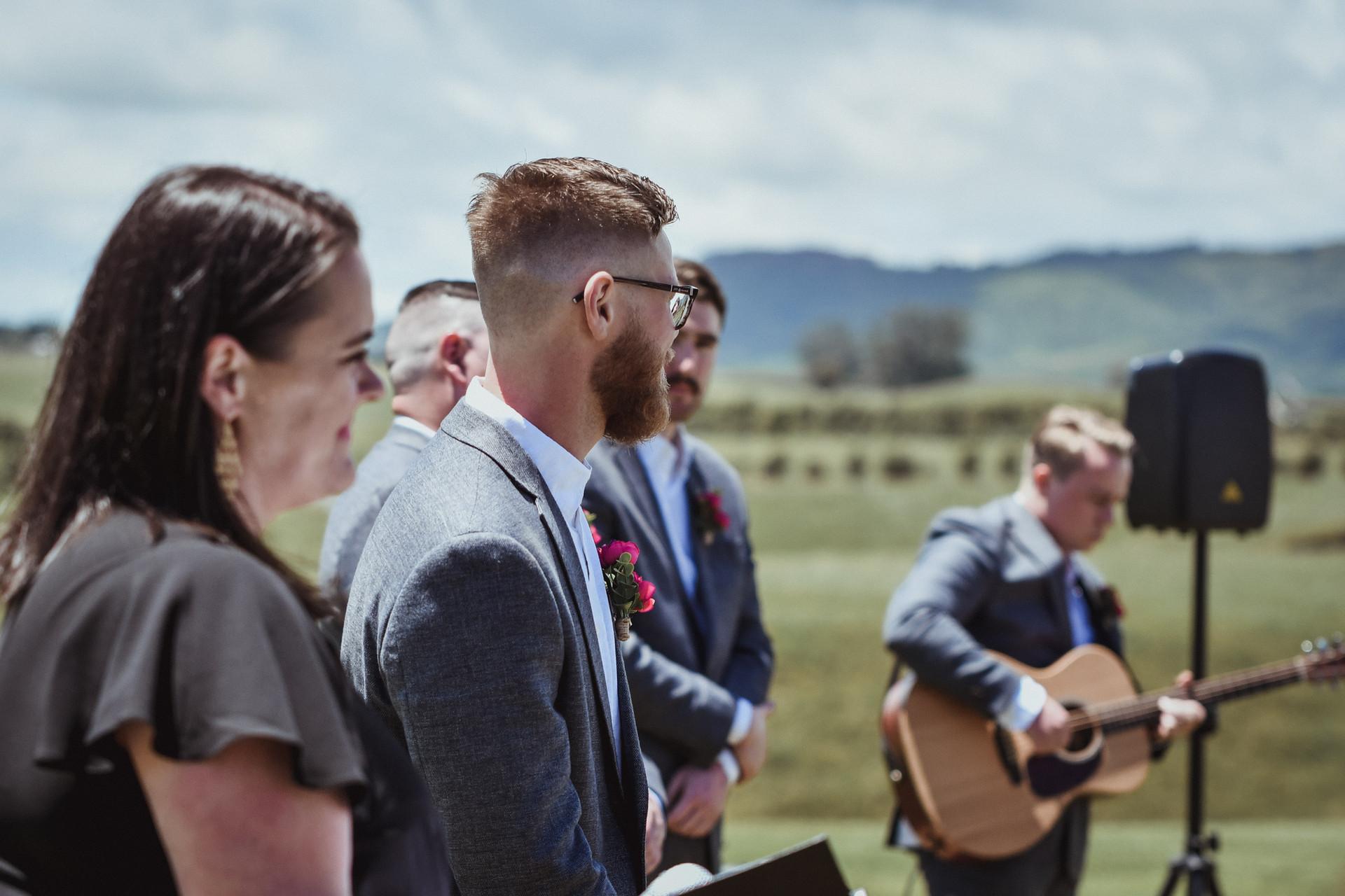 Cassie and Stuart's Taranaki Wedding  (5