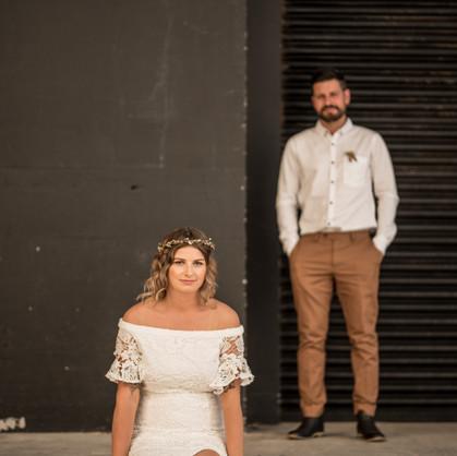 Backyard Wedding - Hailey and Tom's Lepperton Wedding