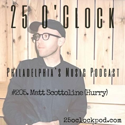 205. Matt Scottoline (Hurry)