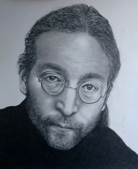 Portrait of John Lennon
