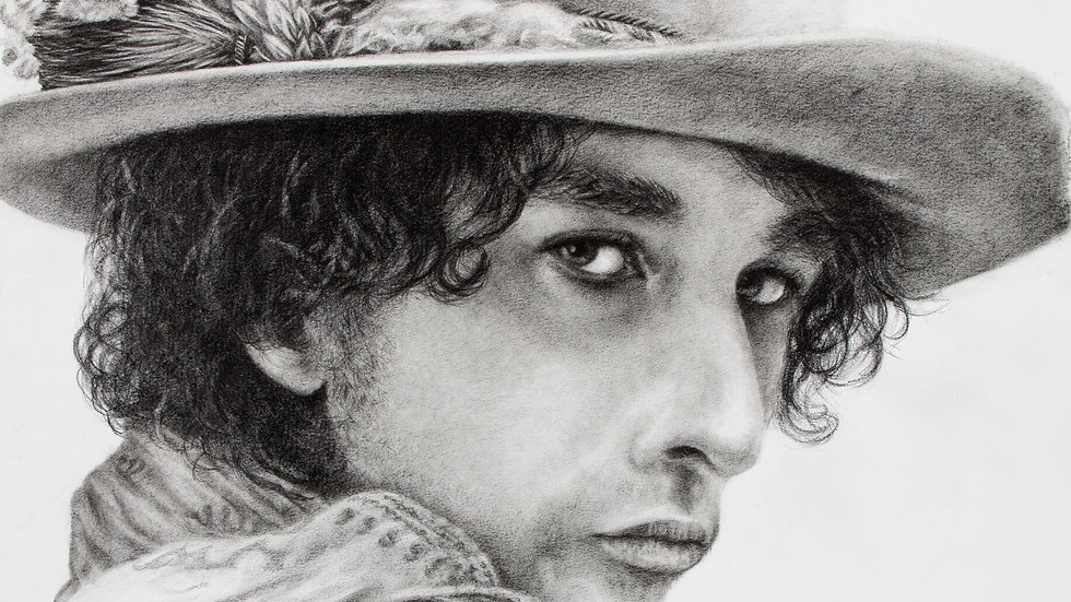 Original Artwork - Portrait of Bob Dylan
