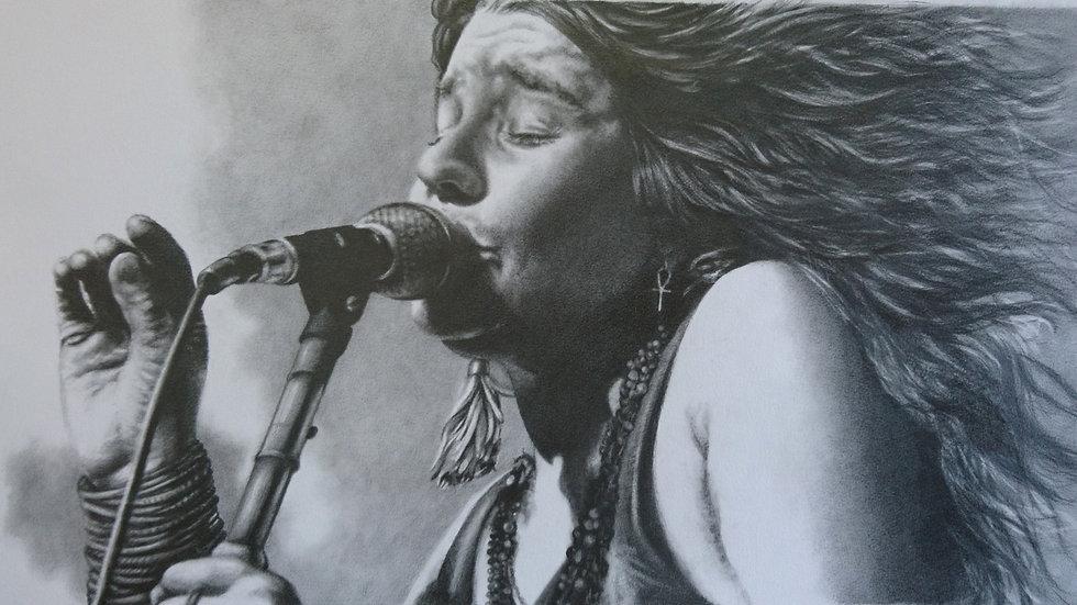 Janis Joplin -  Giclee Fine Art Print