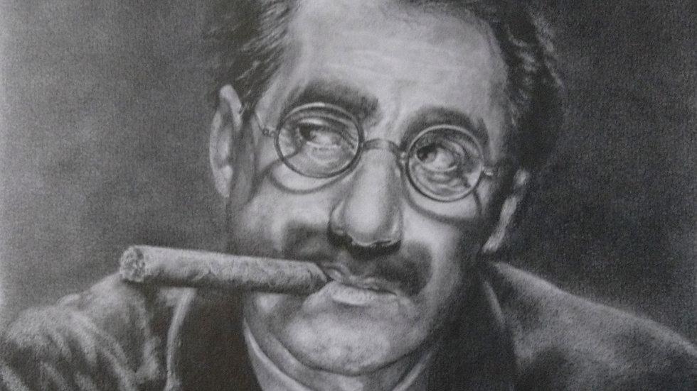 Groucho Marx - Original Artwork