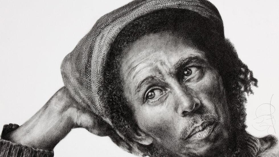 Bob Marley - Giclee Fine Art Print