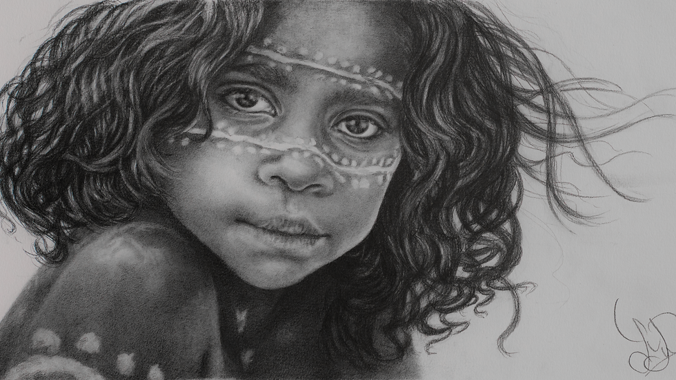 The Yolngu Child - Giclee Fine Art Print