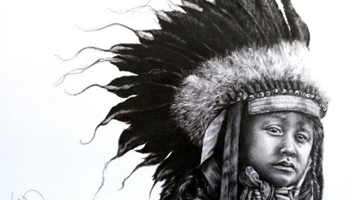 Giclee - Fine Art Print - Little Chief