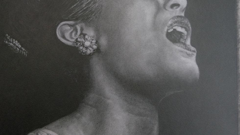 Portrait of Billie Holiday