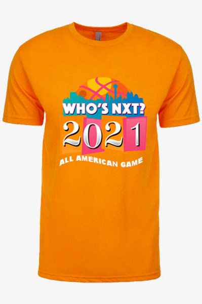 WHO'S NXT? All American Official T-Shirt