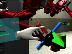 Showcase: dual arm in VR