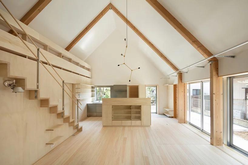 Das Paulownia Hinge House in Tokio von Architektin Mio Tachibana.