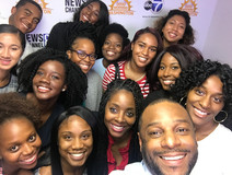 ABC 7 selfie with Director