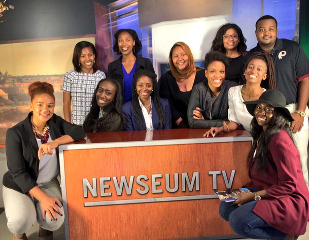 NewsVision Fa 15 at Newseum