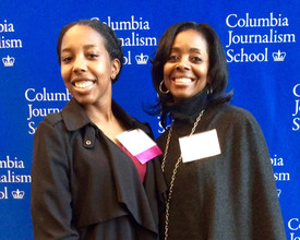 One of my CAU grads now at Columbia J School