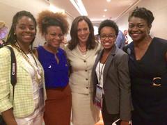 2016 DNC in Philly with US Senator Kamala Harris