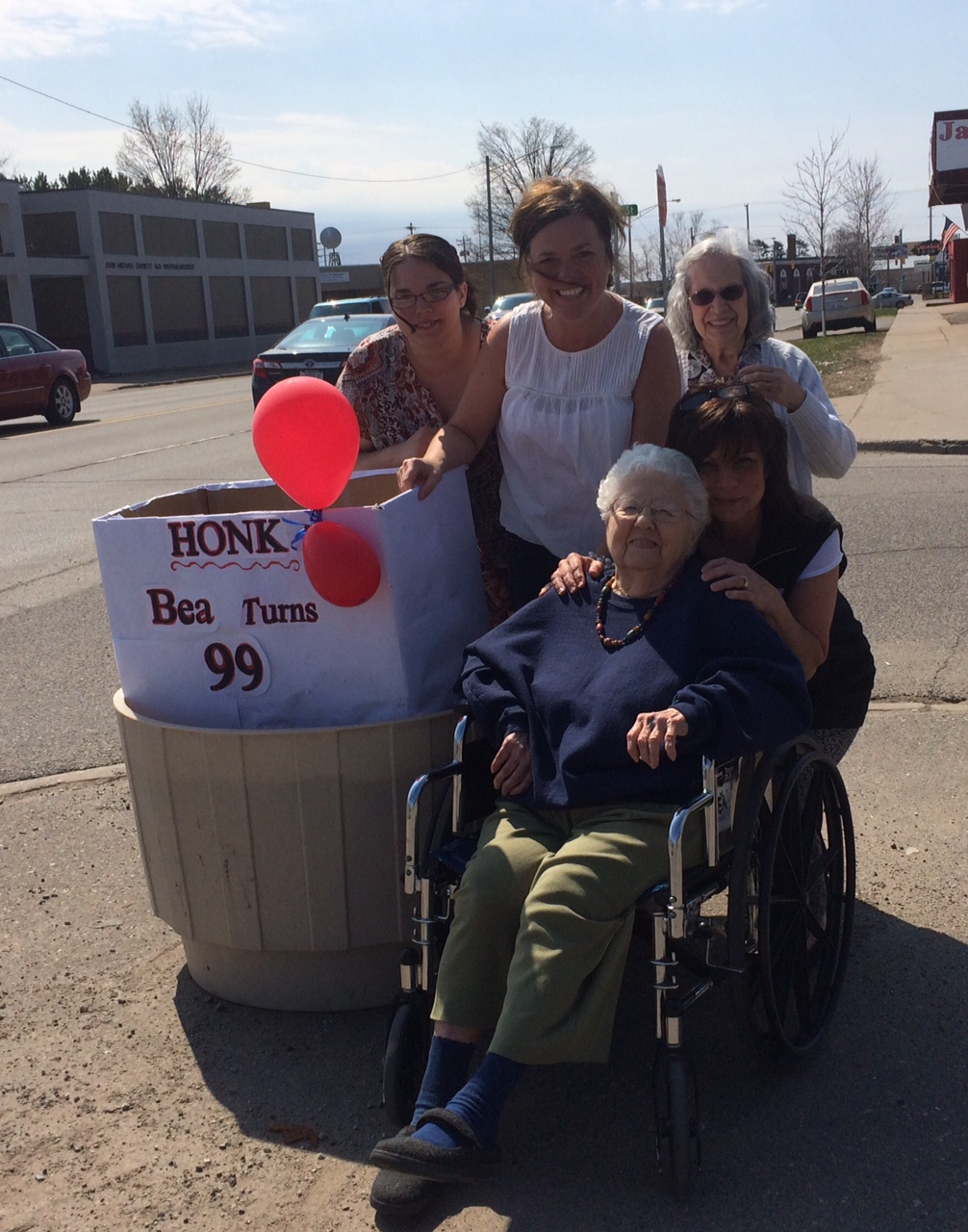 Bea turns 99!