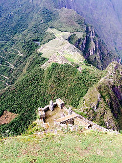 View from Huyna Picchu