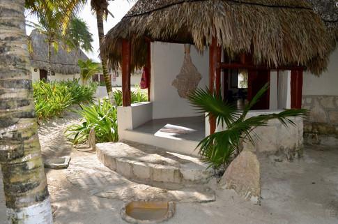Entrance classroom Maya-Tulum