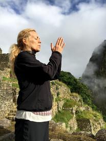 Prayers at Machu Picchu