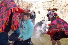 Ceremony at Pumamarka