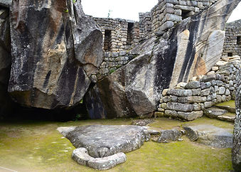 Condor temple in Machu Picchu
