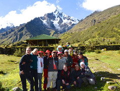 Expedition on Salkantay Mountain