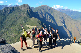 High up on Huyana Picchu Mt.