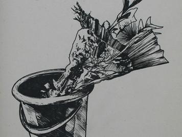 El rebusque dibujado o cómo no pasar desapercibido en Medellín, residencia del artista barranquiller