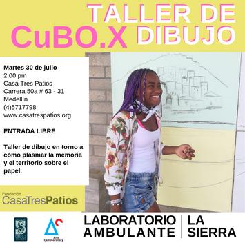 CuBO.X, Ana María Agudelo y Andrés Felipe Restrepo: Taller de dibujo