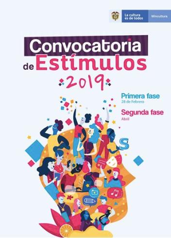 Convocatoria de Estímulos 2019 – I Fase