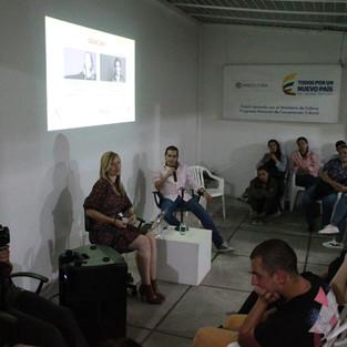Conversatorio con Jorge Lara y Mónica Lehder