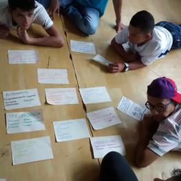 Workshop for building peace