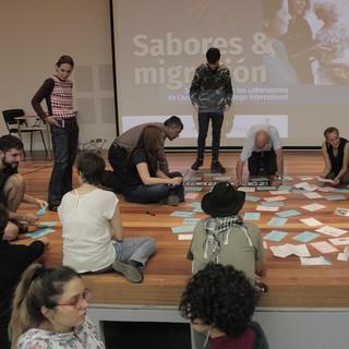 """Encuentros de socialización """"Sabores y migración"""""""