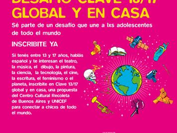 Desafío Clave 13/17 global y en casa