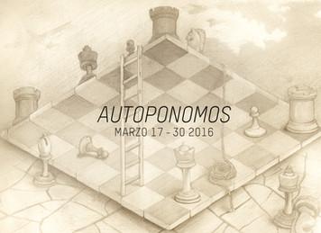 """Exposición """"Autoponomos"""", dinámicas entre poder y espacio"""