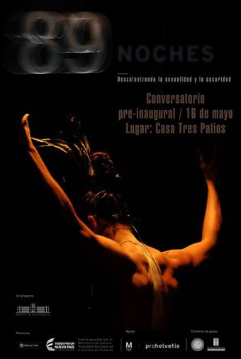 """Conversatorio pre-inaugural """"89 Noches"""""""