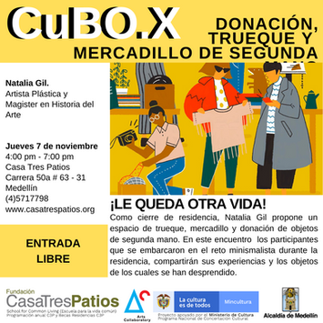 3er Conversatorio del CuBO.X:  Natalia Gil