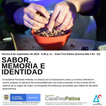 Sabor Memoria e Identidad, con Luis Fernando Peñuela.
